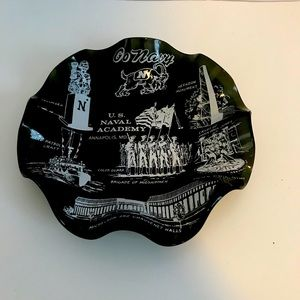 US Naval Academy Vintage Catch All Dish